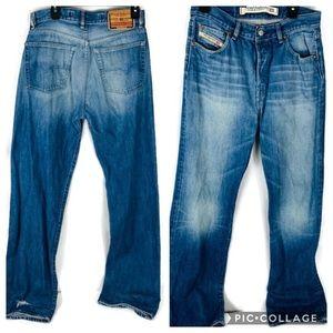 Vintage Diesel Straight Mod Kratt Button Fly Jeans